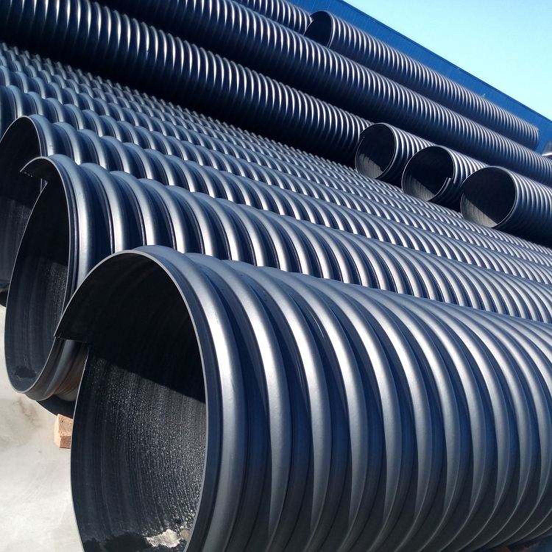 HDPE钢带增强波纹管 (7)
