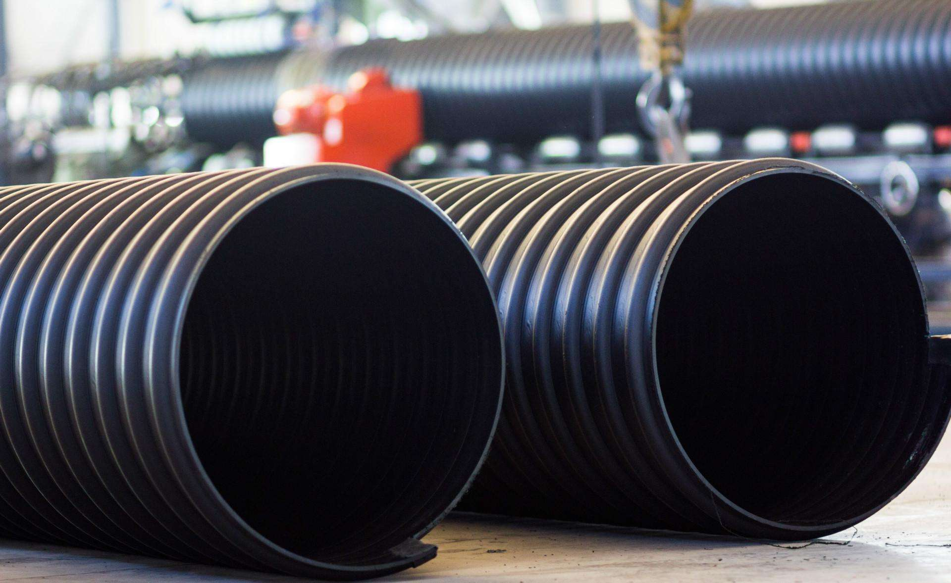 HDPE钢带增强波纹管 (3)
