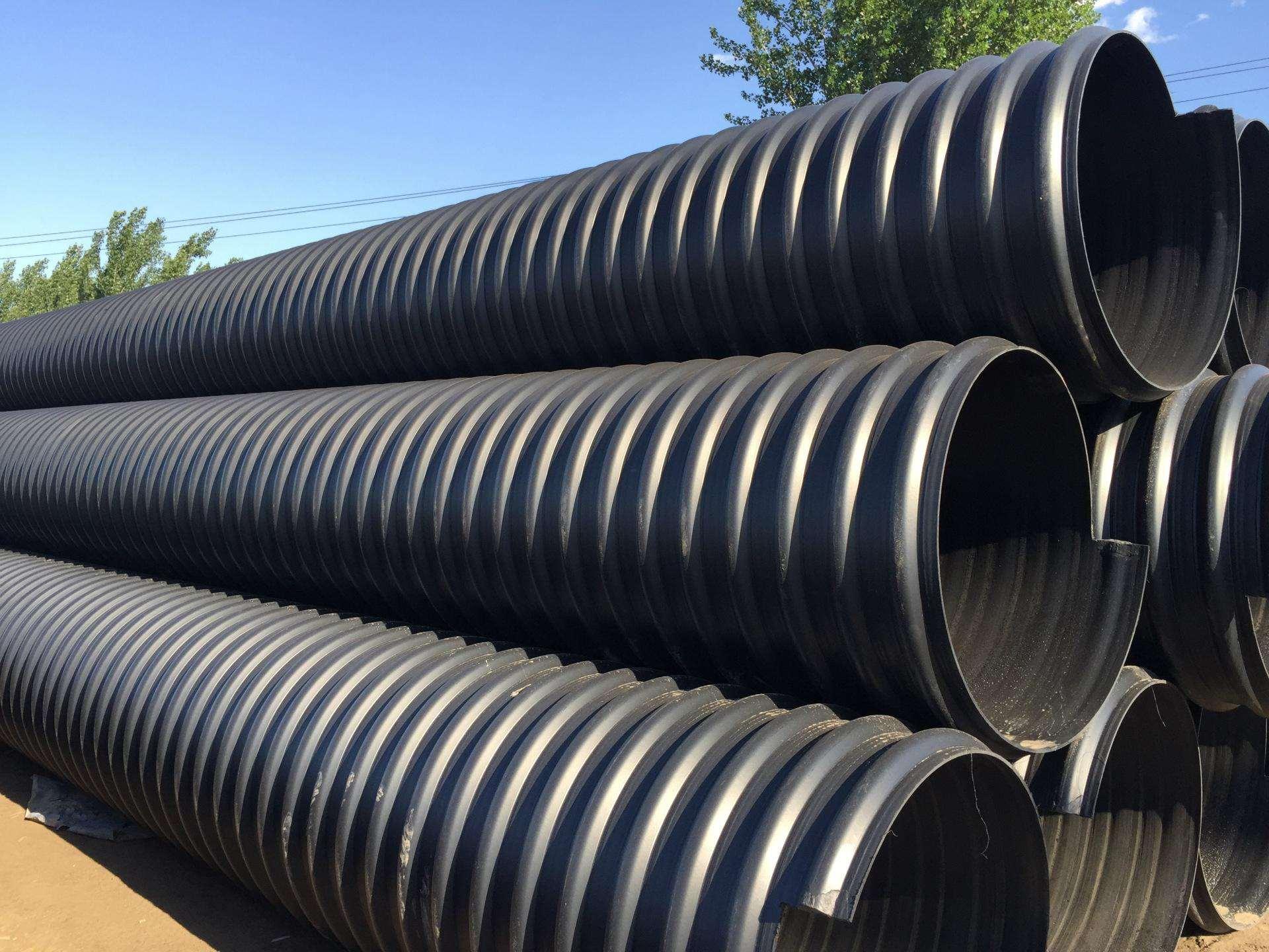HDPE钢带增强波纹管 (4)